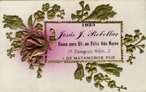 1923, Jesús J. Rebollar. Centro de Documentación Fototeca Lorenzo Becerril A.C.