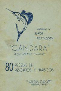 """Súper Pescadería """"Gándara"""". Biblioteca de la Fototeca Lorenzo Becerril A.C."""