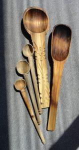 Cucharas de madera, Colección Familia RojanoMartínez. Fotógrafa Lilia Martínez.