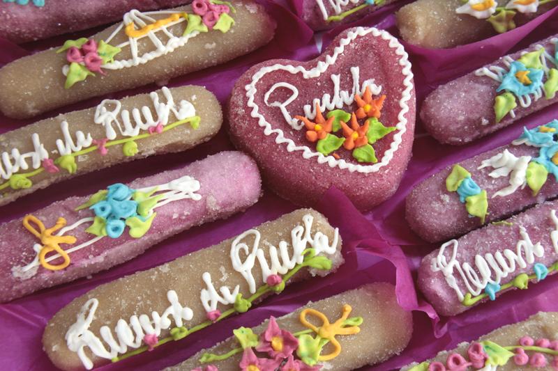 Detalle de los Camotes de Santa Clara de la dulcería Los Ángeles de Santa Clara. 2015, Fotógrafo José Loreto Morales.