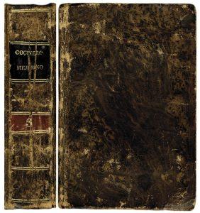 Libro el Cocinero Mejicano tomo III, 1834. Biblioteca de la Fototeca Lorenzo Becerril A.C.