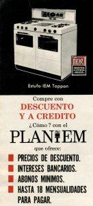 Estufa IEM, Industria Eléctrica México. Viñeta, Fototeca Lorenzo Becerril A.C.