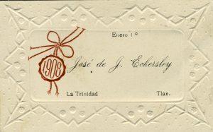 1908, José de J. Echersley. Centro de Documentación Fototeca Lorenzo Becerril A.C.