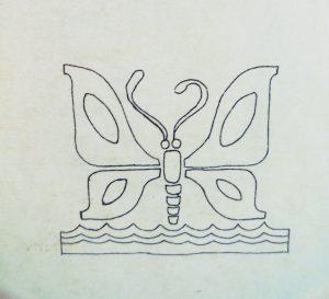 Logotipo de la Comisión del Papaloapan, S.R.H., 1975. Centro de Documentación Fototeca Lorenzo Becerril A.C.