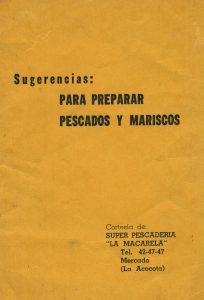 """Súper Pescadería """"La Macarela"""". Biblioteca de la Fototeca Lorenzo Becerril A.C."""