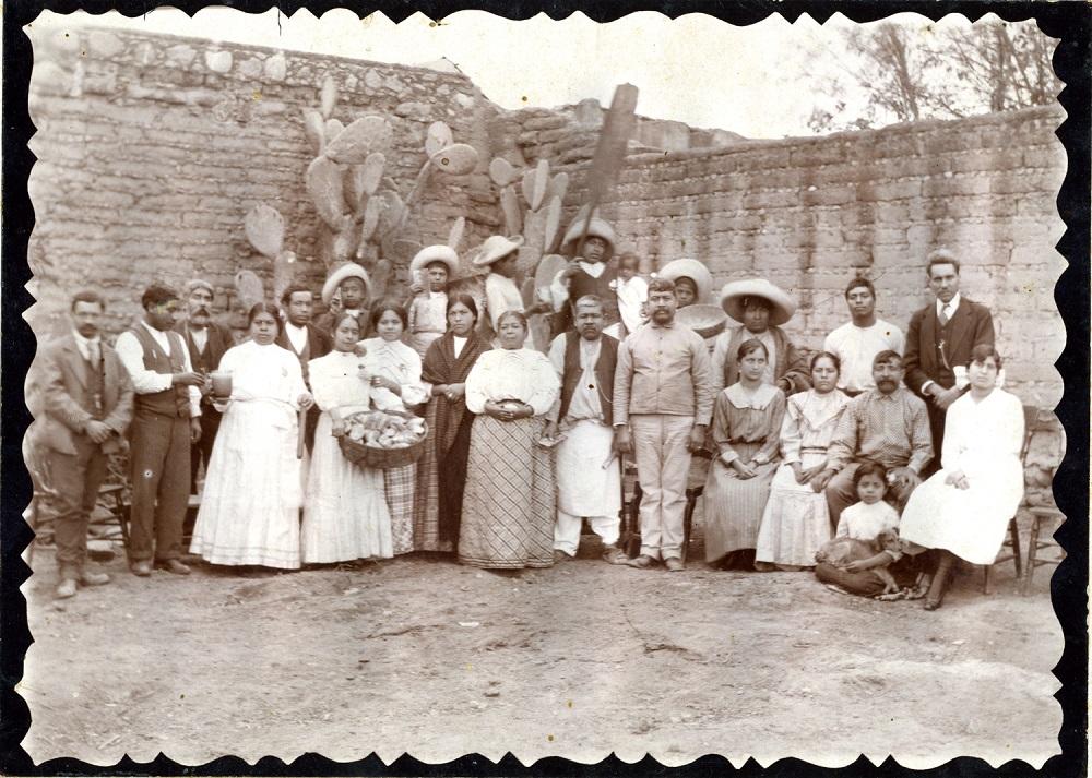 Panaderos. ca. 1913 Fototeca Lorenzo Becerril A.C.