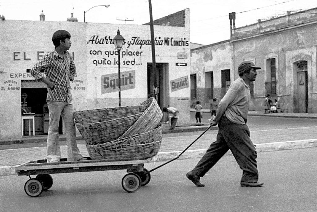Vendedores de pan. Fotografía de Abraham Paredes.